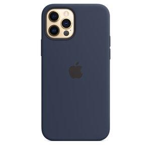 Чехол-накладка для iPhone 12/12 Pro - Apple Silicone Case with MagSafe - Deep Navy (MHL43) - фото 6