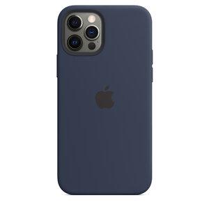 Чехол-накладка для iPhone 12/12 Pro - Apple Silicone Case with MagSafe - Deep Navy (MHL43) - фото 7