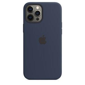 Чехол-накладка для iPhone 12 Pro Max - Apple Silicone Case with MagSafe - Deep Navy (MHLD3) - фото 2