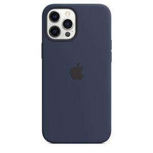 Чехол-накладка для iPhone 12 Pro Max - Apple Silicone Case with MagSafe - Deep Navy (MHLD3) - фото 3
