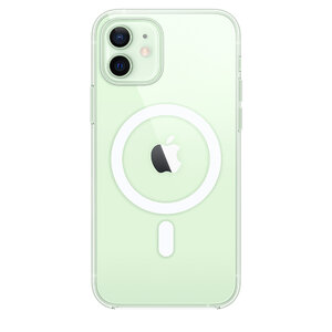 Чехол для iPhone 12/12 Pro Apple Clear Case with MagSafe (MHLM3) - фото 1