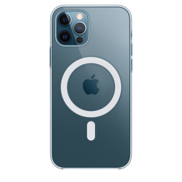 Чехол для iPhone 12/12 Pro Apple Clear Case with MagSafe (MHLM3)