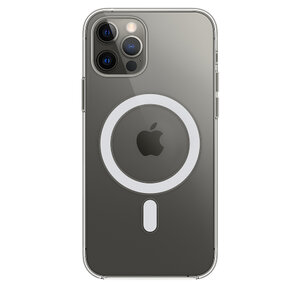 Чехол для iPhone 12/12 Pro Apple Clear Case with MagSafe (MHLM3) - фото 7