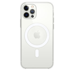 Чехол для iPhone 12/12 Pro Apple Clear Case with MagSafe (MHLM3) - фото 8