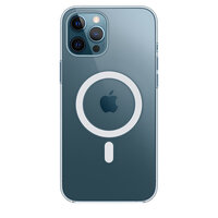 Чехол-накладка для iPhone 12 Pro Max - Apple Clear Case with MagSafe (MHLN3)
