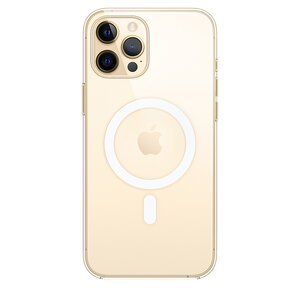 Чехол-накладка для iPhone 12 Pro Max - Apple Clear Case with MagSafe (MHLN3) - фото 1
