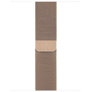 Ремешок Apple Watch 42/44mm Milanese Loop Band 316L Gold OEM