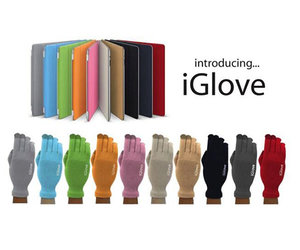 Перчатки для сенсорных экранов Touch iGlove - Red - фото 3