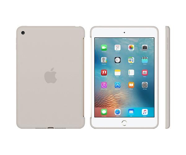 Чехол-накладка для iPad mini 4 - Apple Silicone Case - Stone (MKLP2)