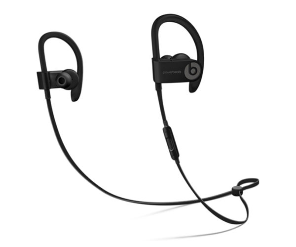 Беспроводные наушники Beats Powerbeats3 Wireless Earphones - Black (ML8V2)