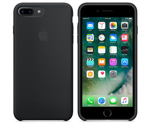 Чехол-накладка для iPhone 7 Plus/8 Plus - Apple Silicone Case - Black (MMQR2) - фото 2