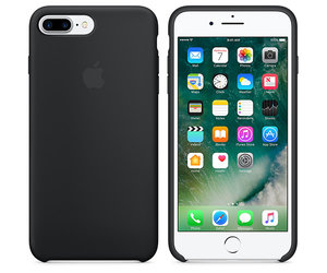 Чехол-накладка для iPhone 7 Plus/8 Plus - Apple Silicone Case - Black (MMQR2) - фото 6
