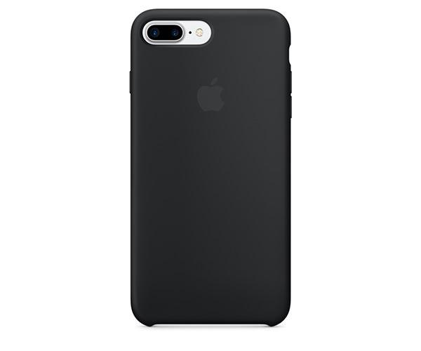 Чехол-накладка для iPhone 7 Plus/8 Plus - Apple Silicone Case - Black (MMQR2)