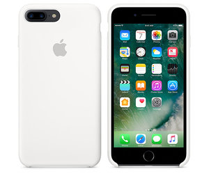 Чехол-накладка для iPhone 7 Plus/8 Plus - Apple Silicone Case - White (MMQT2) - фото 2