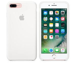 Чехол-накладка для iPhone 7 Plus/8 Plus - Apple Silicone Case - White (MMQT2) - фото 5