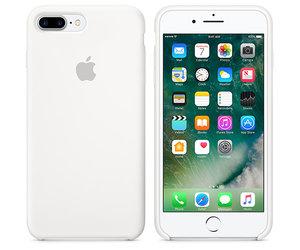 Чехол-накладка для iPhone 7 Plus/8 Plus - Apple Silicone Case - White (MMQT2) - фото 6
