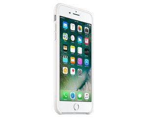 Чехол-накладка для iPhone 7 Plus/8 Plus - Apple Silicone Case - White (MMQT2) - фото 1