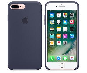 Чехол-накладка для iPhone 7 Plus/8 Plus - Apple Silicone Case - Midnight Blue (MMQU2) - фото 6