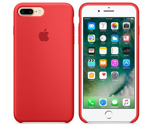 Чехол-накладка для iPhone 7 Plus/8 Plus - Apple Silicone Case - Product(Red) (MMQV2) - фото 3