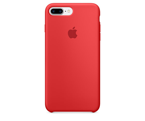 Чехол-накладка для iPhone 7 Plus/8 Plus - Apple Silicone Case - Product(Red) (MMQV2)