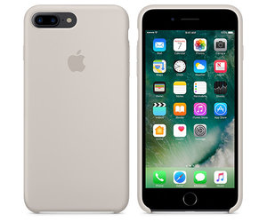 Чехол-накладка для iPhone 7 Plus/8 Plus - Apple Silicone Case - Stone (MMQW2) - фото 2