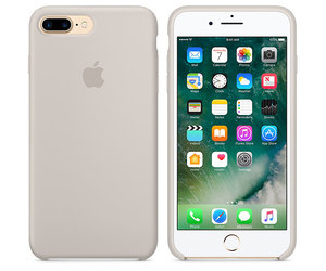 Чехол-накладка для iPhone 7 Plus/8 Plus - Apple Silicone Case - Stone (MMQW2) - фото 3