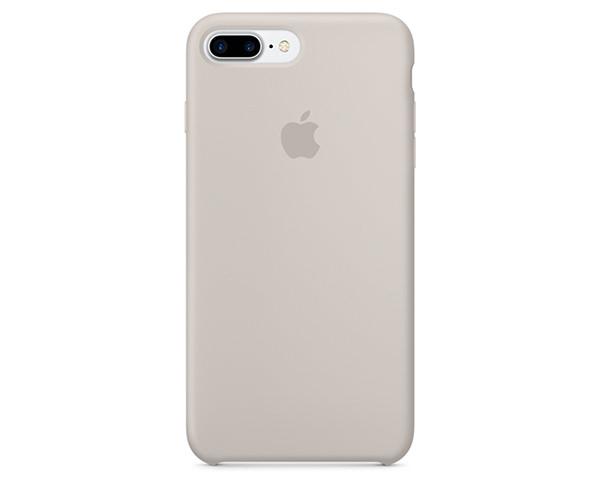 Чехол-накладка для iPhone 7 Plus/8 Plus - Apple Silicone Case - Stone (MMQW2)