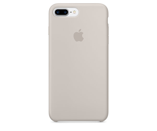 Чехол-накладка для iPhone 7 Plus/8 Plus - Apple Silicone Case - Stone (MMQW2)