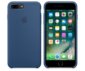 Чехол-накладка для iPhone 7 Plus/8 Plus - Apple Silicone Case - Ocean Blue (MMQX2) - фото 2