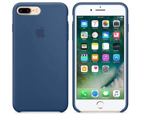 Чехол-накладка для iPhone 7 Plus/8 Plus - Apple Silicone Case - Ocean Blue (MMQX2)