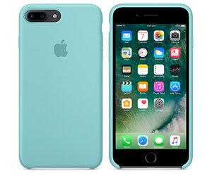 Чехол-накладка для iPhone 7 Plus/8 Plus - Apple Silicone Case - Sea Blue (MMQY2) - фото 2