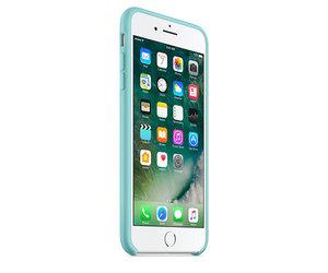Чехол-накладка для iPhone 7 Plus/8 Plus - Apple Silicone Case - Sea Blue (MMQY2) - фото 1