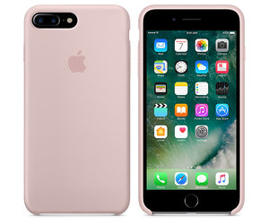 Чехол-накладка для iPhone 7 Plus/8 Plus - Apple Silicone Case - Pink Sand (MMT02) - фото 4