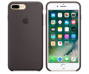 Чехол-накладка для iPhone 7 Plus/8 Plus - Apple Silicone Case - Cocoa (MMT12) - фото 3