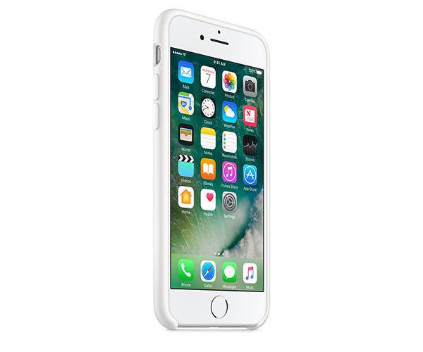 Чехол-накладка для iPhone 7/8 - Apple Silicone Case - White (MMWF2)