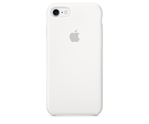 Чехол-накладка для iPhone 7/8/SE - Apple Silicone Case - White (MMWF2)