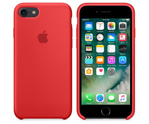 Чехол-накладка для iPhone 7/8 - Apple Silicone Case - Product(Red) (MMWN2) - фото 2