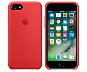 Чехол-накладка для iPhone 7/8 - Apple Silicone Case - Product(Red) (MMWN2) - фото 4