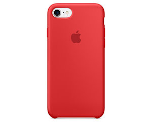 Чехол-накладка для iPhone 7/8/SE - Apple Silicone Case - Product(Red) (MMWN2)