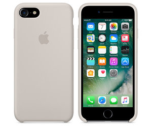 Чехол-накладка для iPhone 7/8/SE - Apple Silicone Case - Stone (MMWR2) - фото 4
