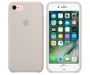 Чехол-накладка для iPhone 7/8/SE - Apple Silicone Case - Stone (MMWR2) - фото 5