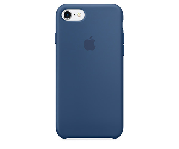 Чехол-накладка для iPhone 7/8 - Apple Silicone Case - Ocean Blue (MMWW2)