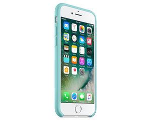 Чехол-накладка для iPhone 7/8/SE - Apple Silicone Case - Sea Blue (MMX02) - фото 1