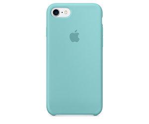Чехол-накладка для iPhone 7/8 - Apple Silicone Case - Sea Blue (MMX02)