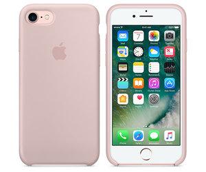 Чехол-накладка для iPhone 7/8/SE - Apple Silicone Case - Pink Sand (MMX12) - фото 5