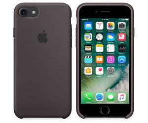 Чехол-накладка для iPhone 7/8/SE - Apple Silicone Case - Cocoa (MMX22) - фото 2