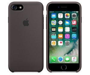 Чехол-накладка для iPhone 7/8/SE - Apple Silicone Case - Cocoa (MMX22) - фото 4
