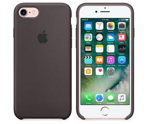Чехол-накладка для iPhone 7/8/SE - Apple Silicone Case - Cocoa (MMX22) - фото 5