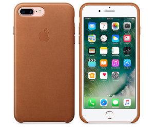 Чехол-накладка для iPhone 7 Plus/8 Plus - Apple Leather Case - Saddle Brown (MMYF2) - фото 5
