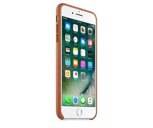 Чехол-накладка для iPhone 7 Plus/8 Plus - Apple Leather Case - Saddle Brown (MMYF2) - фото 1